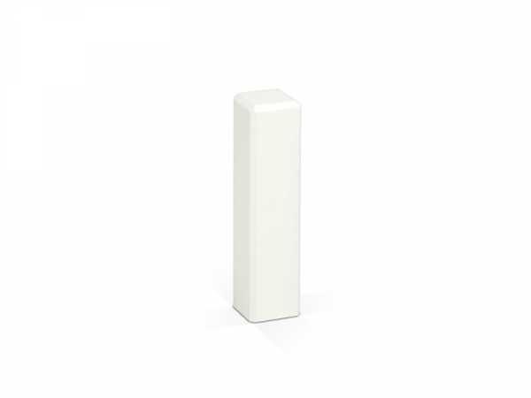 Eckturm 75 mm weiß