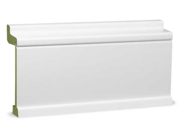 Heizrohrverkleidung weiß, feuchtehemmend (MR*) PUR MDF 60 x 151