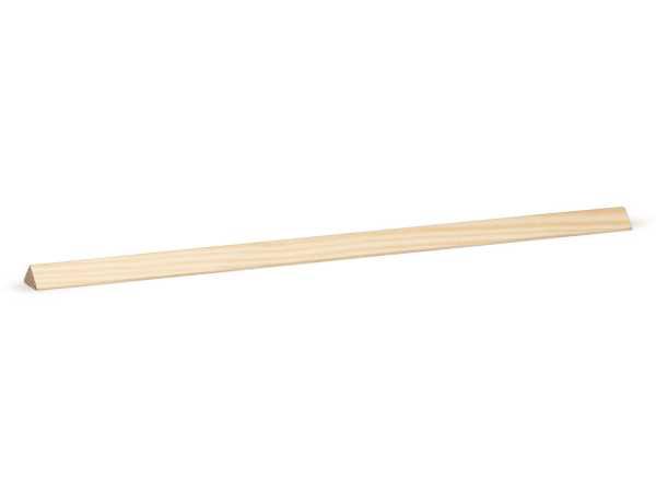 Dreikantleiste Massivholz Kiefer roh (14x14mm)