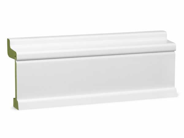 Heizrohrverkleidung weiß, feuchtehemmend (MR*) PUR MDF 60 x 113