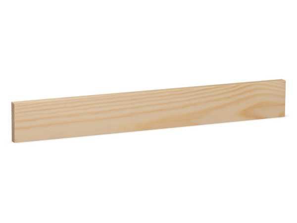 Rechteckleiste Massivholz Kiefer (10 x 40 mm)