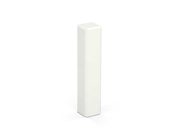 KGM Eckturm weiß 21 x 21 x 95 mm für Sockelleisten